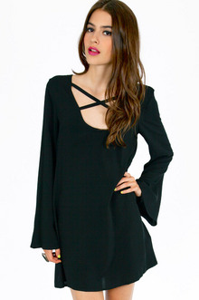FOREVER CROSSED SHIFT DRESS 30