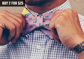 Shop Neckwear Necessities: New Bowties