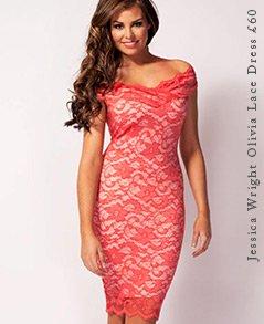 Jessica Wright Olivia Lace Dress