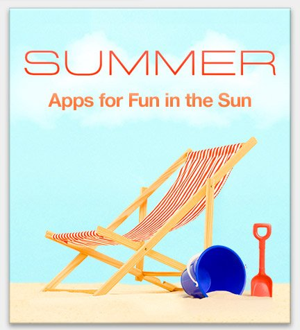 Apps for Fun in the Sun