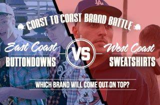 Buttondowns VS. Sweatshirts