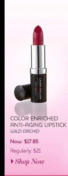 Color Enriched Anti-Aging Lipstick in Wild Orchid