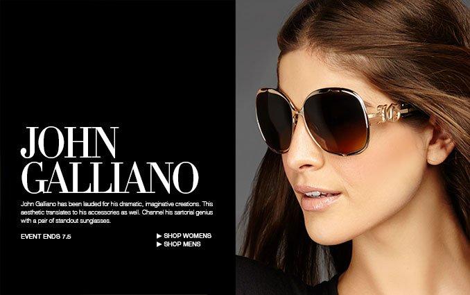 John Galliano Sunglasses