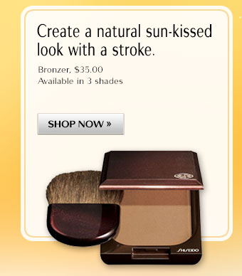 Create a natural sun-kissed look with a stroke.