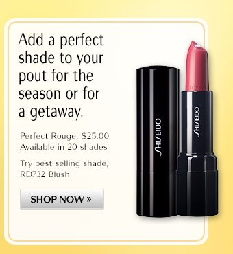 Add a perfect shade to your pout for the season or for a getaway.