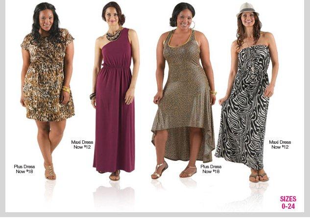 dots Deals! ALL DRESSES $12-$16! SHOP NOW!
