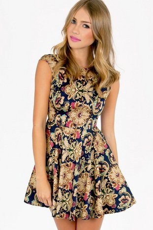 BAROCOCO SKATER DRESS 33