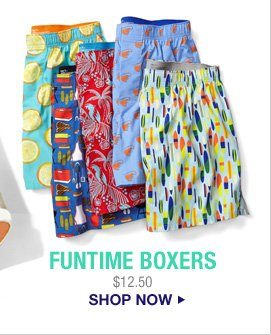 FUNTIME BOXERS  | $12.50 | SHOP NOW