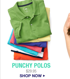 PUNCHY POLOS | $29.95 | SHOP NOW