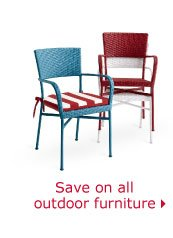 Save on all outdoor furniture