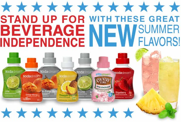 Stand Up For Beverage Independence With These Great New Summer Flavors