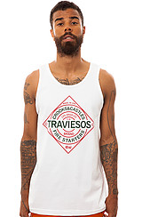 The Traviesos Tank Top in White