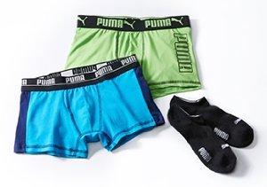 PUMA: Socks & Underwear