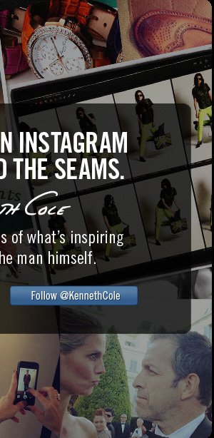 Follow @KennethCole