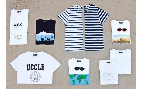 A.P.C. MEN'S T-SHIRTS - SPRING/SUMMER 2013 COLLECTION