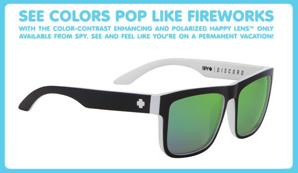 See Colors Pop Like Fireworks