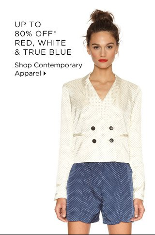 Up To 80% Off* Red, White & True Blue