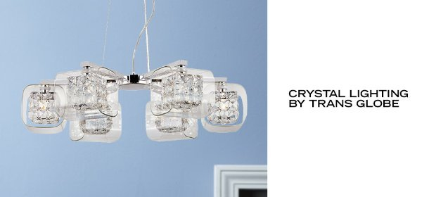 CRYSTAL LIGHTING BY TRANS GLOBE, Event Ends July 5, 9:00 AM PT >