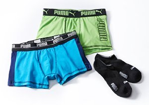 PUMA: Socks & Underwear