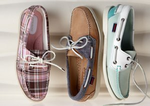 New Markdowns: Sebago Shoes