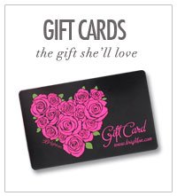 Gift cards - the gift she'll love