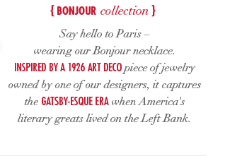 Bonjour Collection