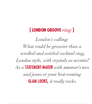 London Groove Ring