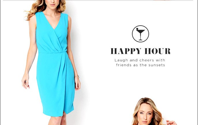 Happy Hour - Laugh & Cheers with Friends as the Sunsets