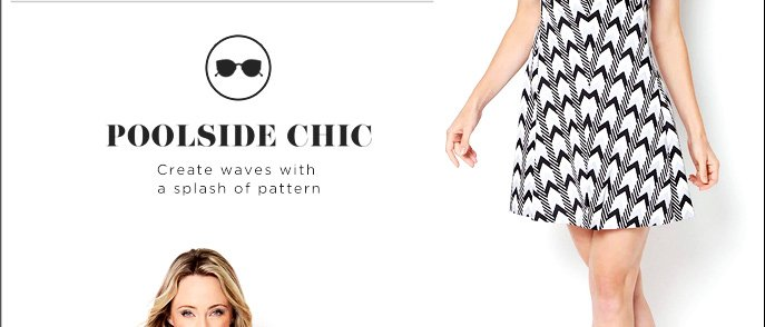 Poolside Chic - Create Waves with a Splash of Pattern