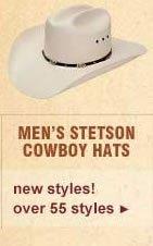 Men's Stetson Cowboy Hats