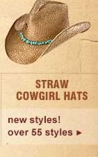 Straw Cowgirl Hats