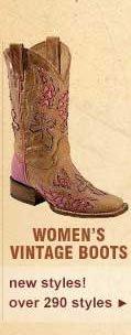 Women's Vintage Boots