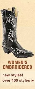 Women's Embriodered Boots
