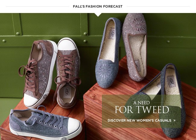 A need for tweed - discover new women's casuals