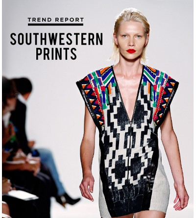 Why Southwestern Prints On Our Radar This Season