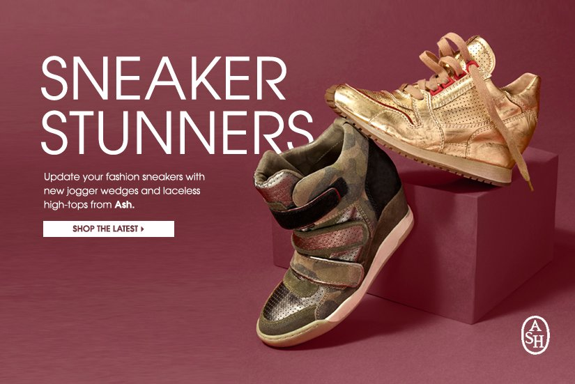 SNEAKER STUNNERS. SHOP THE LATEST.
