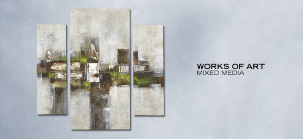 WORKS OF ART: MIXED MEDIA, Event Ends July 6, 9:00 AM PT >