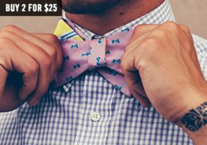 Shop Neckwear Necessities: New Bowties