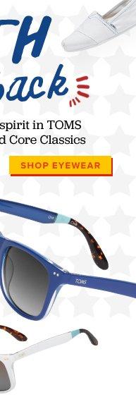 Show your spirit in TOMS Eyewear - Shop Eyewear