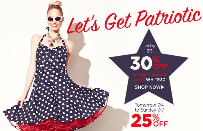 Let's Get Patriotic!
