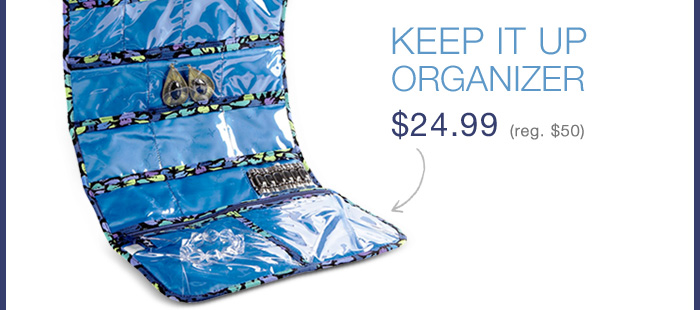 Keep It Up Organizer $24.99