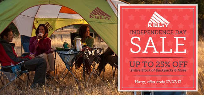 Kelty Sale. Save up to 25% Off. Shop Now.