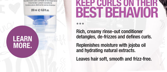 Keep Curls on their best behavior. Rich, creamy rinse-out conditioner detangles, de-frizzes and defines curls. Replenishes moisture with jojoba oil and hydrating natural extracts. Leaves hair soft, smooth and frizz-free.