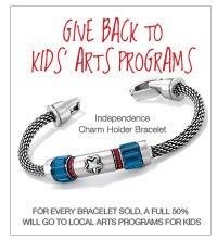 Give back to kids arts programs