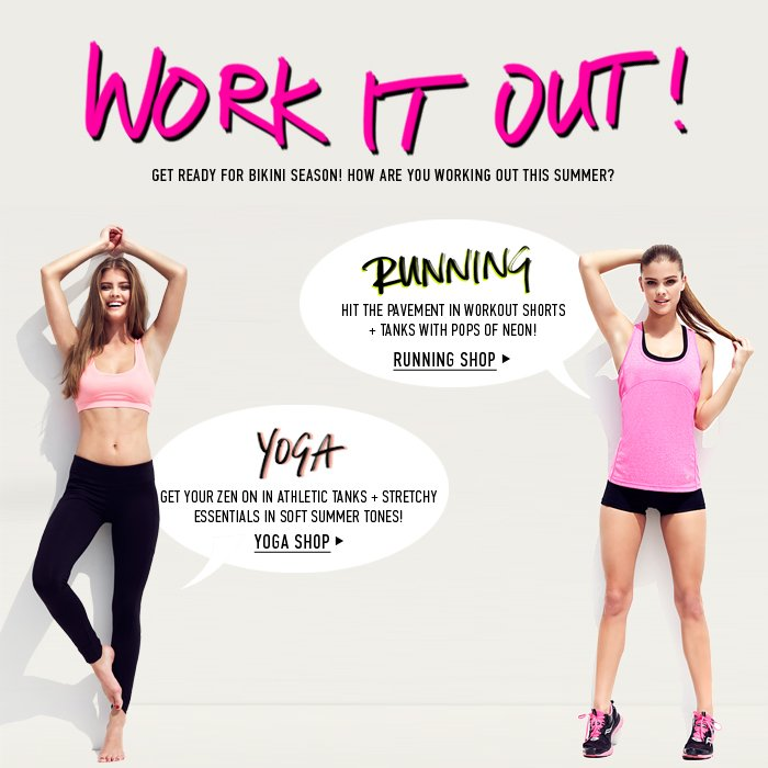 Work it Out! - Shop Now