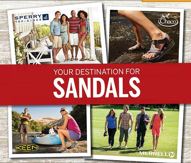 Your Destination for Sandals