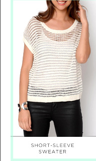 Short-Sleeve Sweater