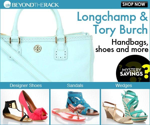 Longchamp and Tory Burch