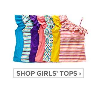 SHOP GIRLS' TOPS ›