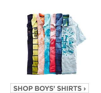 SHOP BOYS' SHIRTS ›